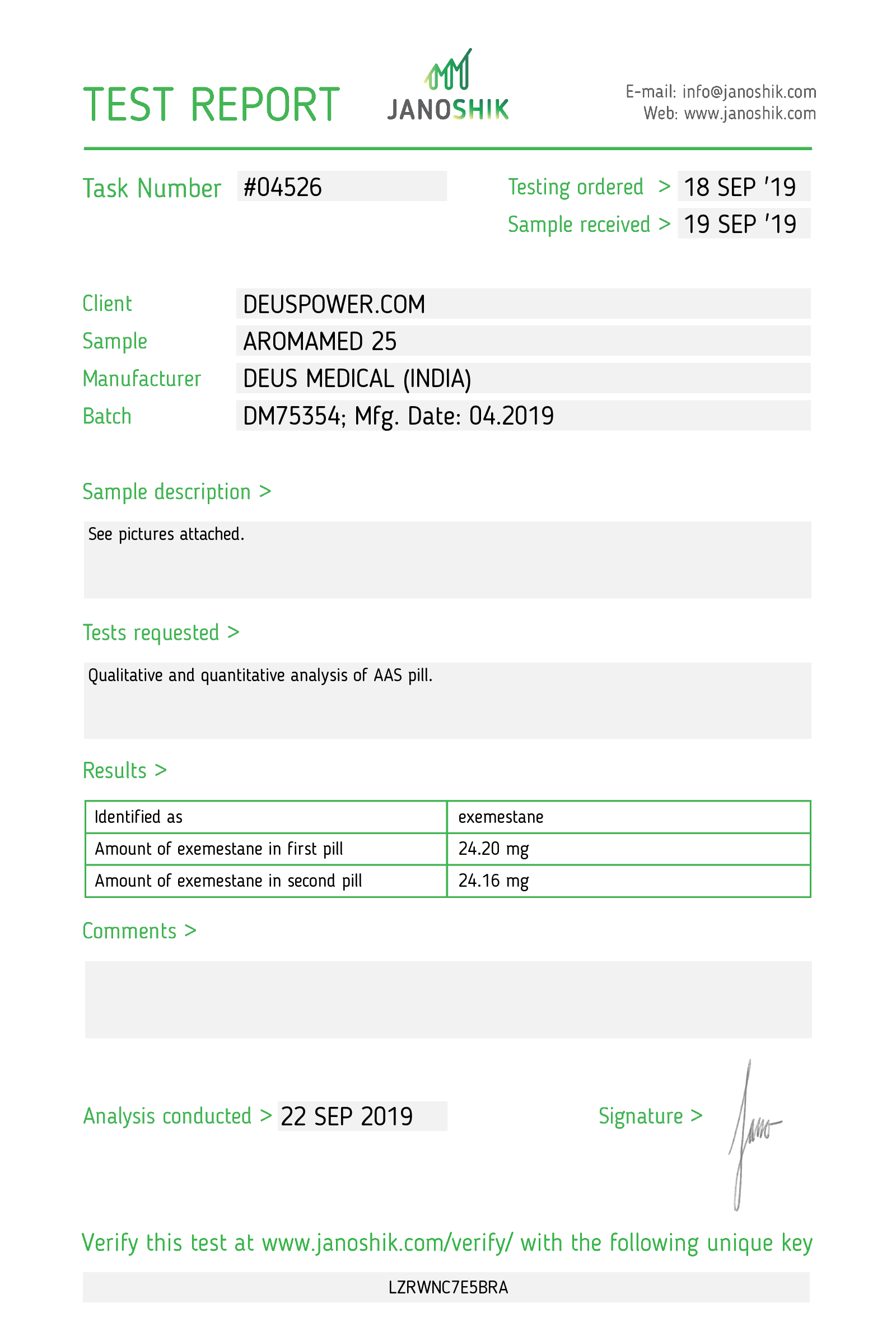 Laboratory Test for Deus Medical AROMAMED 25_Test Report.png